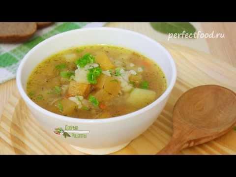 Постный суп с репой и картофелем - видео-рецепт