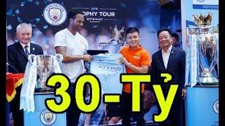 Tin mới ! Muốn Quang Hải sang Man City thi đấu CLB tại VN phải chi đến 30 tỷ