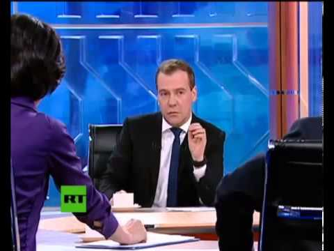 «Разговор с Дмитрием Медведевым» ( версия RT )
