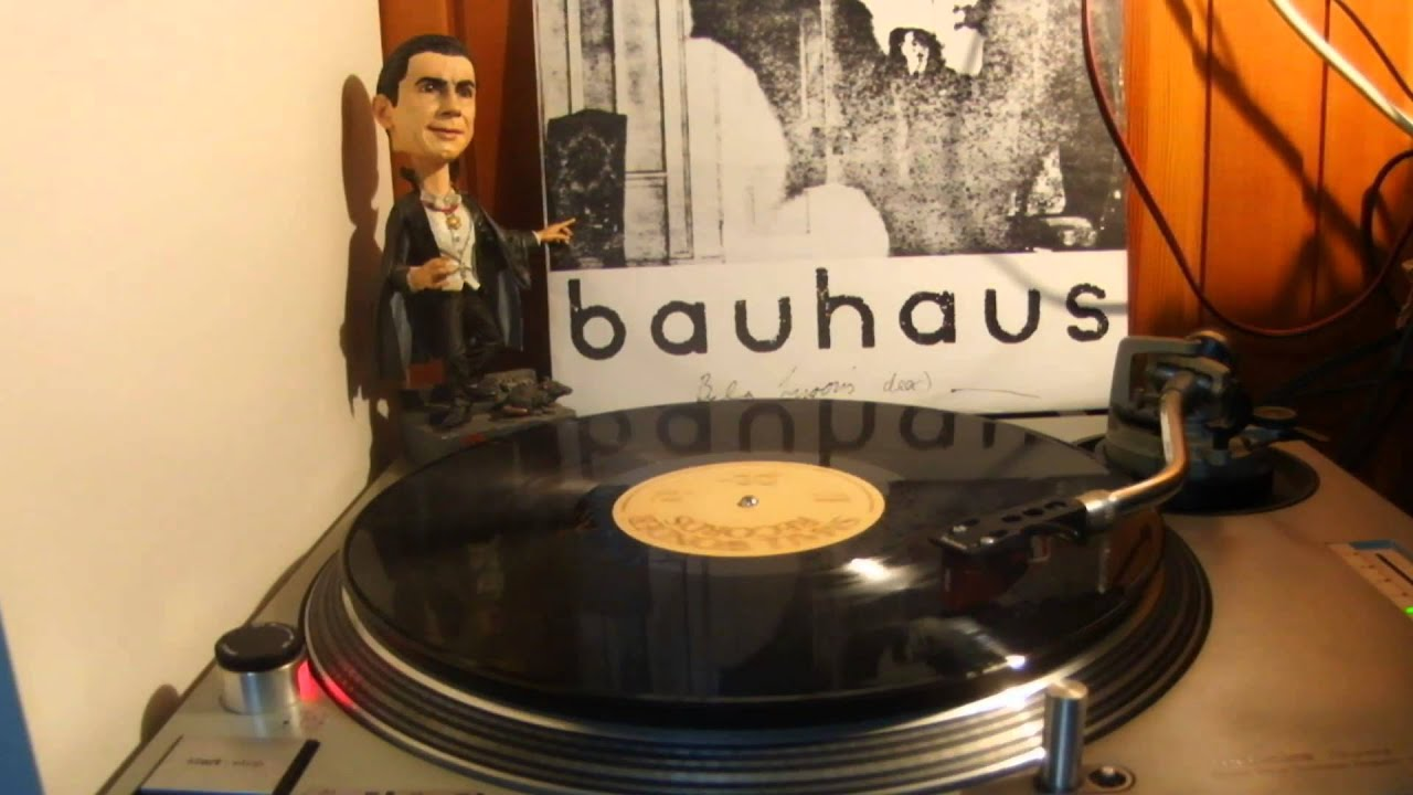 bauhaus bela lugosi 39 s dead vinyl rip youtube. Black Bedroom Furniture Sets. Home Design Ideas