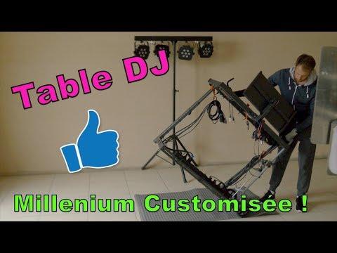 Ma régie DJ - Millenium DJ Table Customisée
