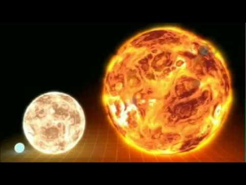 Largest star ever discovered, compared to our Sun
