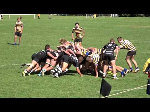 2 tries, Waverley 2ndXV v Newington 2016 schools rugby