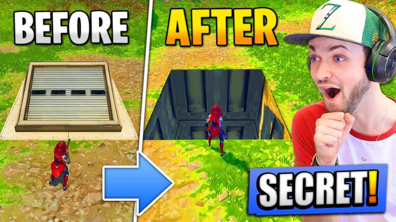 Opening the *SECRET* BUNKER - What's INSIDE? (Fortnite: Battle Royale)