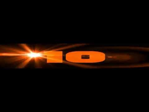 10 Sec Countdown Timer ( V 207 ) Orange Clock With Sound Fx Effects Hd video