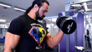 Drew McIntyre trains heavy for Roman Reigns and reflects on his path back to WWE: WrestleMania Diary