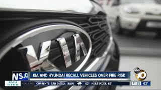 Kia, Hyundai recall vehicles due to fire risk