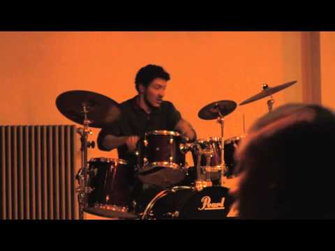 Taylor Adam McDowell - Drum Solo @ Morrisville State College Talent Show