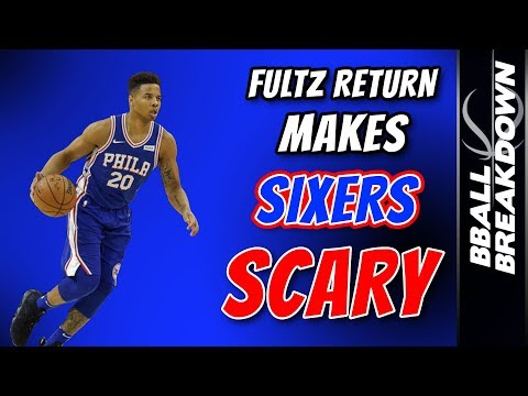 FULTZ Return Makes Sixers SCARY