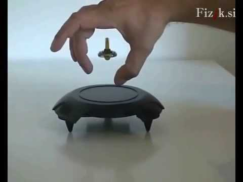 Magnetic levitation - Science experiment - YouTube