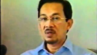 Amanat terakhir DSAI  sebelum ditangkap 1998