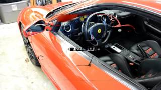 How to check the fluids in a Ferrari F430