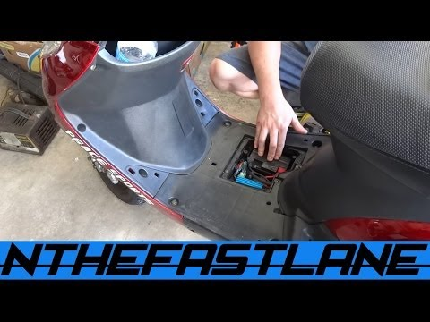 Recharging A Scooter Battery