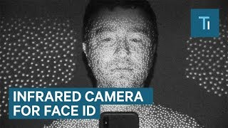 Using An Infrared Camera To Show How Face ID Works