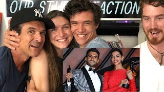 Deepika Padukone & Ranveer Singh Speech REACTION!!