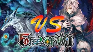 Force of Will (TCG) Feature Match: GB Fox Control vs. BWR Lapis Conqueror Control