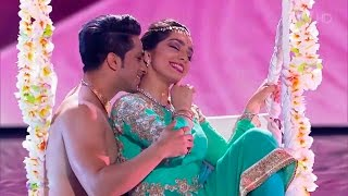 Russia's Got Talent | Bollywood KATHAK dance | Svetlana Tulasi & Kumar Sharma | Jag Ghoomeya Sultan