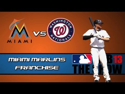 MLB 13 The Show Franchise Mode: Miami Marlins - Middle of the Order Problems [Y2G16 EP11]
