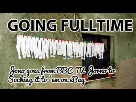 Jono goes from BBC TV News Journo, to Socking it to 'em on eBay