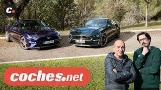 Ford Mustang GT y Mustang Bullitt 2019 | Prueba / Test / Review en español | coches.net