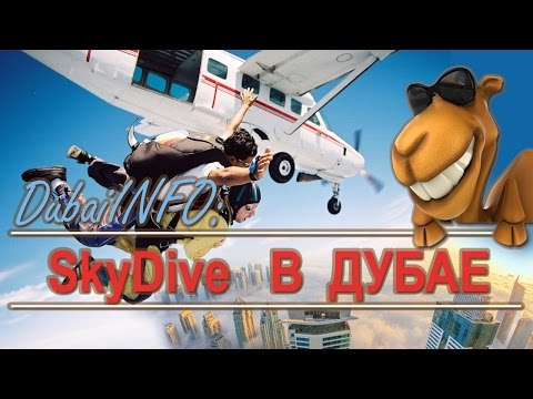 Скайдайвинг в Дубае (SkyDive Dubai)