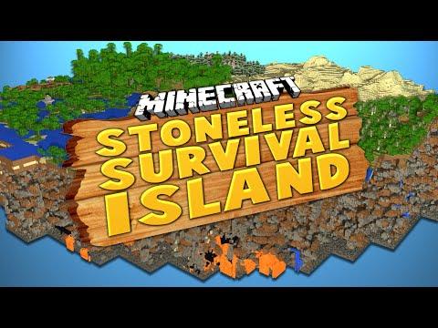 STONELESS SURVIVAL ISLAND (Ep.1) ★ Minecraft: Dumb & Dumber