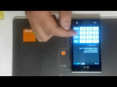Simlock LG Swift L5 E610 jak wpisać kod. Unlock LG Swift L5 E610