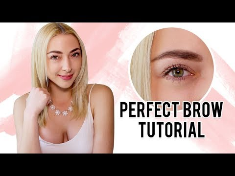 Perfect Brow Tutorial! | The Nolan Twins