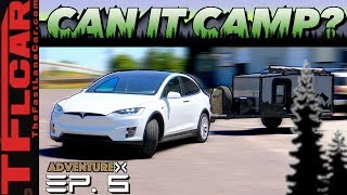Is Electric Car Camping a Thing? Let's Find Out | Adventure X Ep. 5