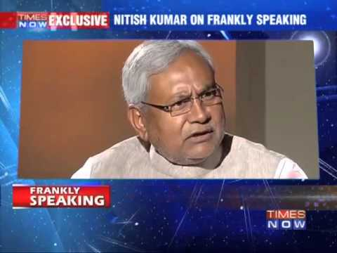 Frankly Speaking with Nitish Kumar (Full Debate)