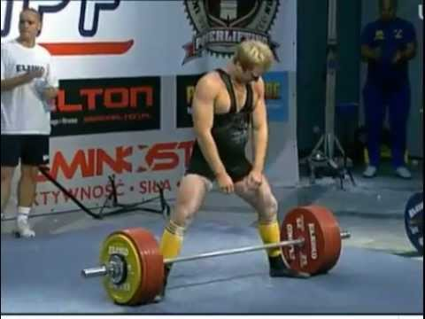 Huge deadlifts @ -93kg class IPF juniors including Ian Bell and Erik Gunhamn World Records!