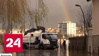 Париж превратился в озеро с гигантскими крысами - Россия 24