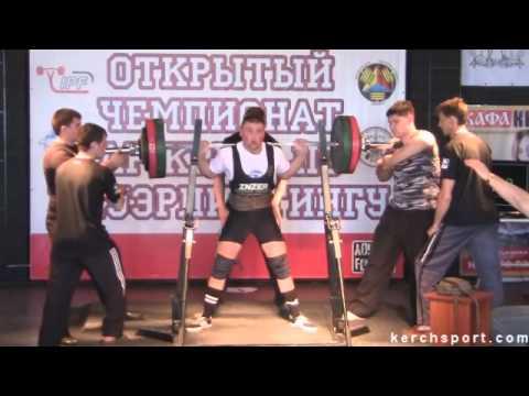 Открытый Чемпионат АР Крым по пауэрлифтингу  2 й день