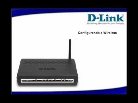 D-Link - Configuração DSL 2640B Wireless - Vista e Seven