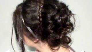 Peinado Fiesta -Inspirado en Serena, Gossip Girl- (Party Hairstyle, Inspired in Serena)