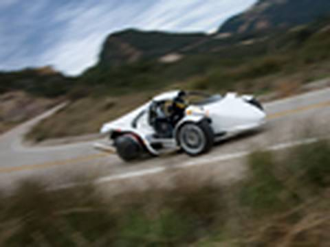 Scary Thrills: 2009 Campagna T-Rex Road Tested by Inside Line