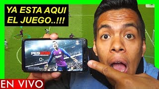 PES 2019 MOBILE - ANDROID/IOS (TE RETO A QUE ME GANES)