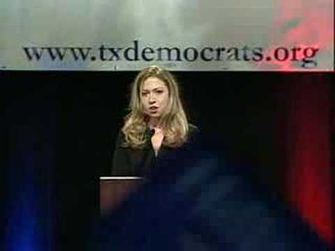 Chelsea Clinton with intro - Texas Democratic Convention 08