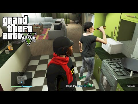GTA 5 Online Mission: Ballas to the Wall - Driving Test