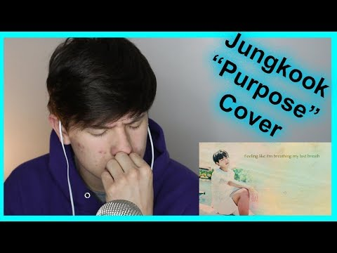 JK is perfect | BTS JUNGKOOK – PURPOSE (Justin Bieber) cover REACTION | BTS cover reaction