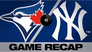 Smoak's 2-run homer in 7th lifts Blue Jays | Blue Jays-Yankees 9/20/19