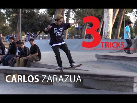 3 Tricks - Carlos Zarazua