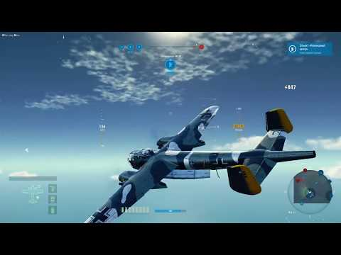 Бомбардировщики Германии - краткий обзор ветки World of Warplanes