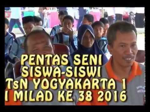 MTs Negeri 6 Sleman  PENTAS SENI di Milad ke 38 Tahun 2016.wmv