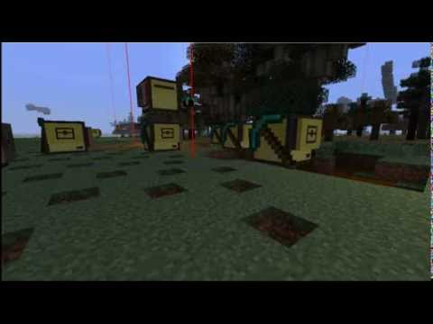 Minecraft turtle mining swarm