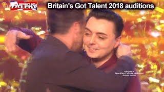 Marc Spelmann Gets Golden Buzzer with MOST MOVING MAGIC  Auditions Britain's Got Talent 2018 S12E01