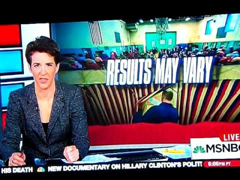 Rachel Maddow Takes On ME Gov. Paul LePage Narcan Access Bill Veto
