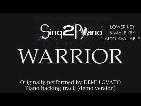 Warrior - Demi Lovato (Karaoke Version)