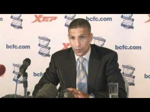 New boss Chris Hughton welcomes task at Birmingham City