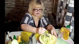 Салат из авокадо с капустой. Лина рекомендует.